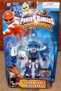 "Amazon.com : Blizzard Force Megazord 5"" Power Rangers Action Figure : Collectible Action Figures : Toys & Games"