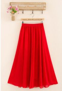 LadyArc Pleated Long Skirts - 20 Colors | Products | Pinterest ...