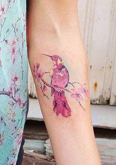 Jemka hummingbird tattoo