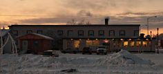 Place to stay in Alaska:  Valley Hotel Open Cafe, Palmer, Alaska