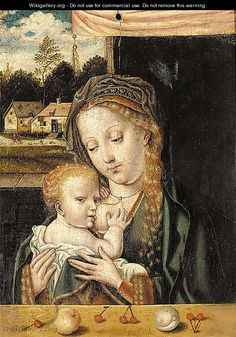 The Virgin and Child 2 - (after) Cleve, Joos van