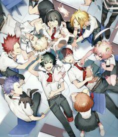 My Hero Academia // BNHA // Izuku Midoriya // Shoto Todoroki // Ochaco Uraraka // Mina Ashido // Denki Kaminari // Shota Aizawa // Tsuyu Asui // Katsuki Bakugo // Eijiro Kirishima // Hitoshi Shinso Boku No Hero Academia, My Hero Academia Memes, Hero Academia Characters, My Hero Academia Manga, Kirishima Eijirou, Manga Anime, Anime Art, Anime Love, Anime Guys