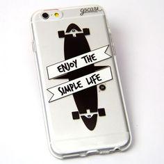 Capinha para celular Skate
