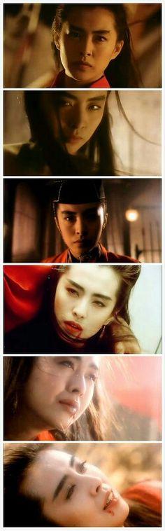 Joey Wong (Wang Zu Xian) - Retired Chinese actress of the 1980's-90's.