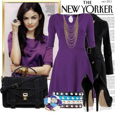 """The New Yorker✈"" by browneyez on Polyvore"