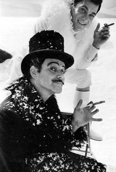 """Jack Lemmon & Tony Curtis in """"The Great Race"""" (1964)"""