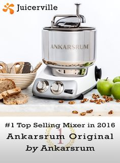 Ankarsrum Original Kitchen Center is a Swedish super mixer that does all but the dishes. Swedish design and engineering at its best! Kitchen Machine, Kitchen Mixer, Stainless Steel Bowl, Akm, Pasta Shapes, Types Of Vegetables, Spiced Coffee, Quality Kitchens, Swedish Design