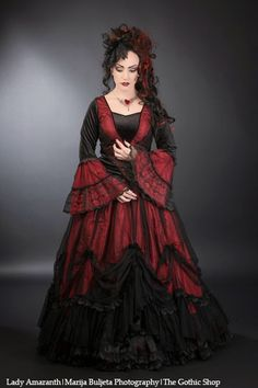Model: Lady AmaranthPhoto: Marija Buljeta PhotographyDress : Sinister - Jewelery: Alchemy Gothic for The Gothic Shop - www.the-gothic-shop.co.ukWelcome to Gothic and Amazing |www.gothicandamazing.org