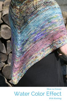 This episode of The Knit Show with Vickie Howell is our ode to color -- intermediate stitch techniques, a look at different types of dyed fibers, and a project that shows off beautifully water-colored yarn!  In the first studio segment we meet Taiu Landra, owner of Koigu a yarn company known for its color techniques. Taiu shows how to make a top-center-out shawl using a technique to create a water color effect. #knitting #paintwithyarn #watercolor #theknitshow #knitshawl #knitting…