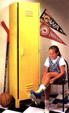 Kids' Sports Locker Woodworking Plan from WOOD Magazine