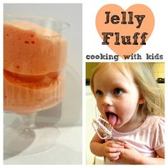 Cooking with kids Jelly Fluff recipe - thanks to Kylie from Octavia and Vicki for this fab guest post!