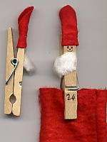 You could even make an advent calendar with 24 little sacks held in place with a clothes peg and decorated with a Christmas gnome. Holiday Crafts For Kids, Easy Crafts For Kids, Christmas Activities, Xmas Crafts, Holiday Fun, Fun Crafts, Christmas Gnome, Christmas Projects, Kids Christmas