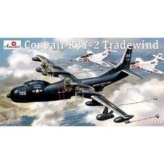 Convair R3Y-2 Tradewind Scale Plastic Model Kit by AMODEL 72037 #Amodel #Scale_Model
