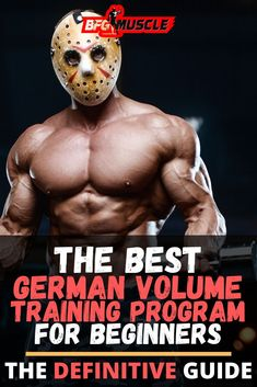 The Best German Volume Training Program for Beginners, is perfect for those weight training enthusiasts looking for an intense bodybuilding workout. Gym Workouts For Men, Gym Workout For Beginners, Gym Workout Tips, Workout Challenge, Workout Programs For Men, Circuit Workouts, Workout Fitness, Hiit, Bodyweight Strength Training