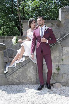 Stylizacja ślubna od Giacomo Conti: Wedding Groom, Wedding Suits, Hair, Trendy, Style, Fashion, Swag, Moda, Wedding Outfits