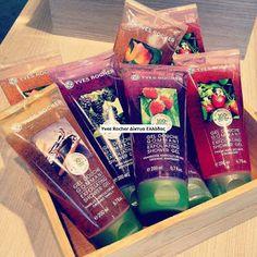 Anna's Yves Rocher : Απαλή Απολέπιση με 100% Φυσικούς Κόκκους Φρούτων!