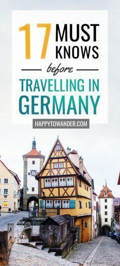 17 Hilariously True Must-Knows Before You Travel to Germany Travel tips 2019 You NEED to read this article if you plan to travel in Germany. These important must-knows are crucial if you are planning that Germany trip! Europe Travel Tips, European Travel, Budget Travel, Travel Guides, Travel Hacks, Travel Essentials, Backpacking Europe, Car Travel, Europe Packing