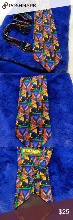 3155554a722e Jerry Garcia Tie Jerry Garcia Tie - Pre Owned - Make me an offer! Jerry