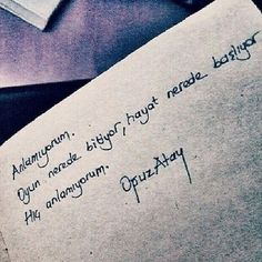 Poetry Quotes, Book Quotes, Life Quotes, Learn Turkish Language, Good Sentences, Perfect Word, Caption Quotes, True Words, Cool Words