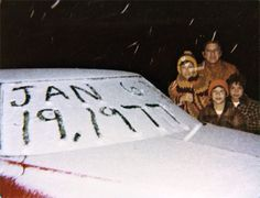 Snow in Miami, January 19, 1977.