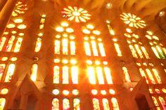 La Sagrada Família. La Sagrada Familia est tout simplement sublime, une beauté gothique, un charme pour les sens. Espagne Barcelone