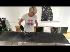 Resin work with 99.9%Alcohol and Pigment - YouTube