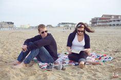 Vintage Beach #engagement