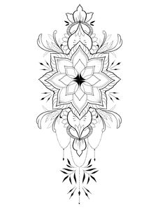 tattoo - mandala - art - design - line - henna - hand - back - sketch - doodle - girl - tat - tats - ink - inked - buddha - spirit - rose - symetric - etnic - inspired - design - sketch Tattoo Knee, Lotusblume Tattoo, Tattoo Blog, Body Art Tattoos, Tattoo Drawings, Hand Tattoos, Sleeve Tattoos, Small Mandala Tattoo, Mandala Tattoo Design