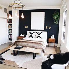 Cool 46 Modern Small Bedroom Design Ideas That Are Look Stylishly Space Saving Home Design, Interior Design, Modern Interior, Design Ideas, Scandinavian Interior, Design Trends, Design Inspiration, Stylish Bedroom, Feminine Bedroom