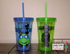 Hey, I found this really awesome Etsy listing at https://www.etsy.com/listing/191032539/personalized-tmnt-acrylic-tumbler