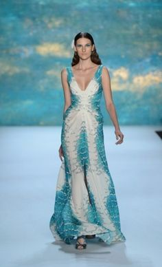 Life under the sea never looked so good - Monique Lhuiller, NY Fashion Week