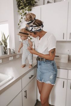 Baby Outfits, Mode Outfits, Summer Outfits, Fashion Outfits, Ootd Fashion, 4th Of July Outfits, Family Photo Outfits, Fashion Tips, Fashion Clothes