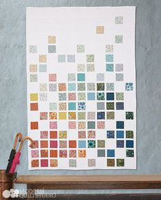 Fade Away, Modern Quilts Illustrated #6. Photo: Jim White. Copyright Modern Quilt Studio. - great idea for charm packs and Moda candy