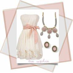 Exotic Bloom necklace Pinch earrings #liasophia www.liasophia.com/mariasutton