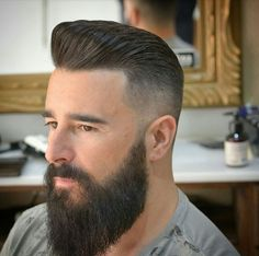 35 Fresh Short Haircuts For Men Cool Hairstyles For Men, Haircuts For Men, Daily Hairstyles, Medium Hairstyles, Wedding Hairstyles, Beard Styles For Men, Hair And Beard Styles, Mullet Hairstyle, Greaser Hairstyle