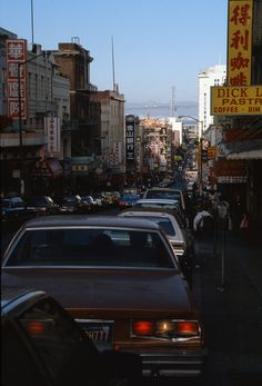 San Francisco in the late 80's