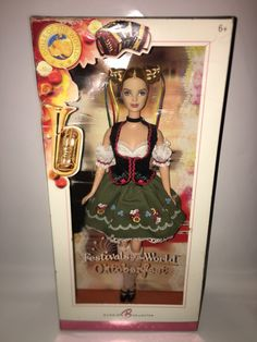 Dolls of the World Festivals of the World Oktoberfest Barbie Collector Pink Label