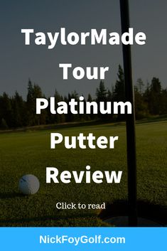 Check out this golf review of the TaylorMade Spider Putter. It's the Tour Platinum model also referred to as the diamond putter. Read the full review to see if it's worth buying in 2019. #golf #putters #golfequipment #golfclubs New Golf Clubs, Golf Practice, Golf Putters, Putt Putt, Taylormade, Pick One, Golf Tips, Golf Ball