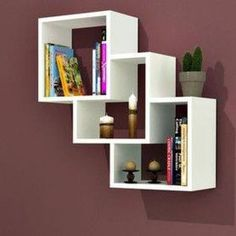 The newest catalog of corner wall shelves designs for modern home interior wall decoration latest trends in wooden wall shelf design as home interior decor trends in Indian houses Creative Bookshelves, Bookshelf Design, Wall Shelves Design, Wooden Shelf Design, Wooden Wall Shelves, Floating Shelves, Unique Wall Shelves, Book Shelves, Home Furniture