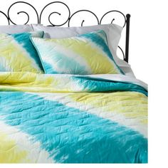 Xhilaration Tie Dye Quilt - Turquoisen ashley wants this one