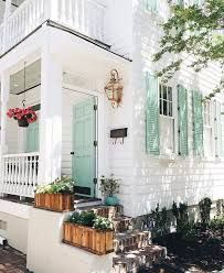 Image result for white house with birds egg shutters