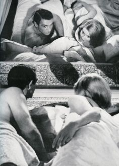 Daniela Bianchi and Sean Connery in From Russia with Love (1963)