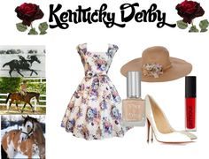 """Kentucky Derby 3"" by food-fun-fashion ❤ liked on Polyvore"