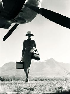 The Art of Travel. By Norman Parkinson 1951 (via pixdaus.com)