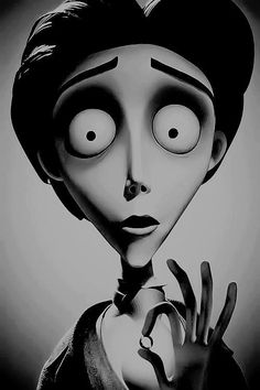 Corpse Bride, Victor.. I love this film the musical films are defiantly the best I also have a habit of naming things after Victor Vandort for example on holiday I named three seagulls victor