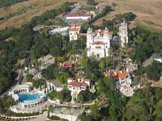 Inside 6 of the World's Most Expensive Homes-Hearst Castle is most know for being the home of the fictional mob boss 'Vito Corleone' in Francis Ford Coppola's, The Godfather. But though the house boasts 27 bedrooms. a cinema room, a nightclub and an outdoor terrace large enough for 400 guests, it is yet to find a buyer after going on the market for $135m in 2014.