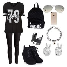 Designer Clothes, Shoes & Bags for Women Moschino, Shoe Bag, Clothing, Polyvore, Anime, Stuff To Buy, Shopping, Shoes, Collection