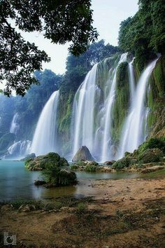 Ban Gioc Waterfall, Vietnam                                                                                                                                                                                 More