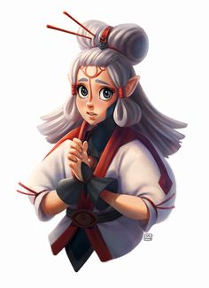 "sarahlisahleb: ""Paya, my favourite girl from Zelda: Breath of the Wild"