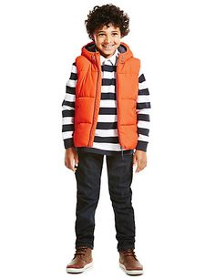 Padded Gilet With 3* Thermal Rating (5-14 Years) | M&S